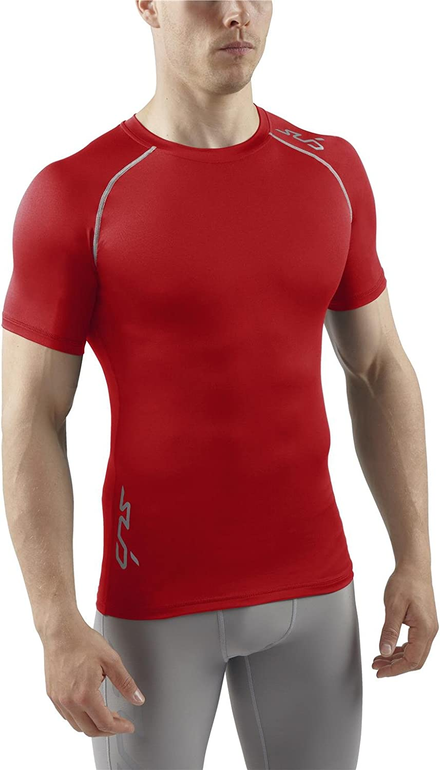 Sub Sports Mens Heat Stay Cool Semi Compression Short Sleeve Base Layer