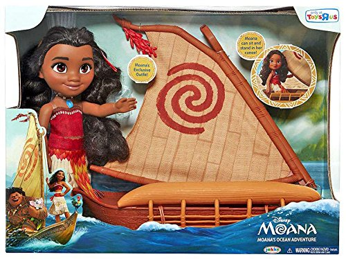 Disney Princess Moana Ocean Adventure Doll Set
