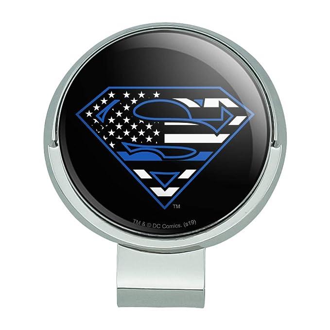 Amazon.com: GRAPHICS & MORE Superman Thin Blue Line Flag ...