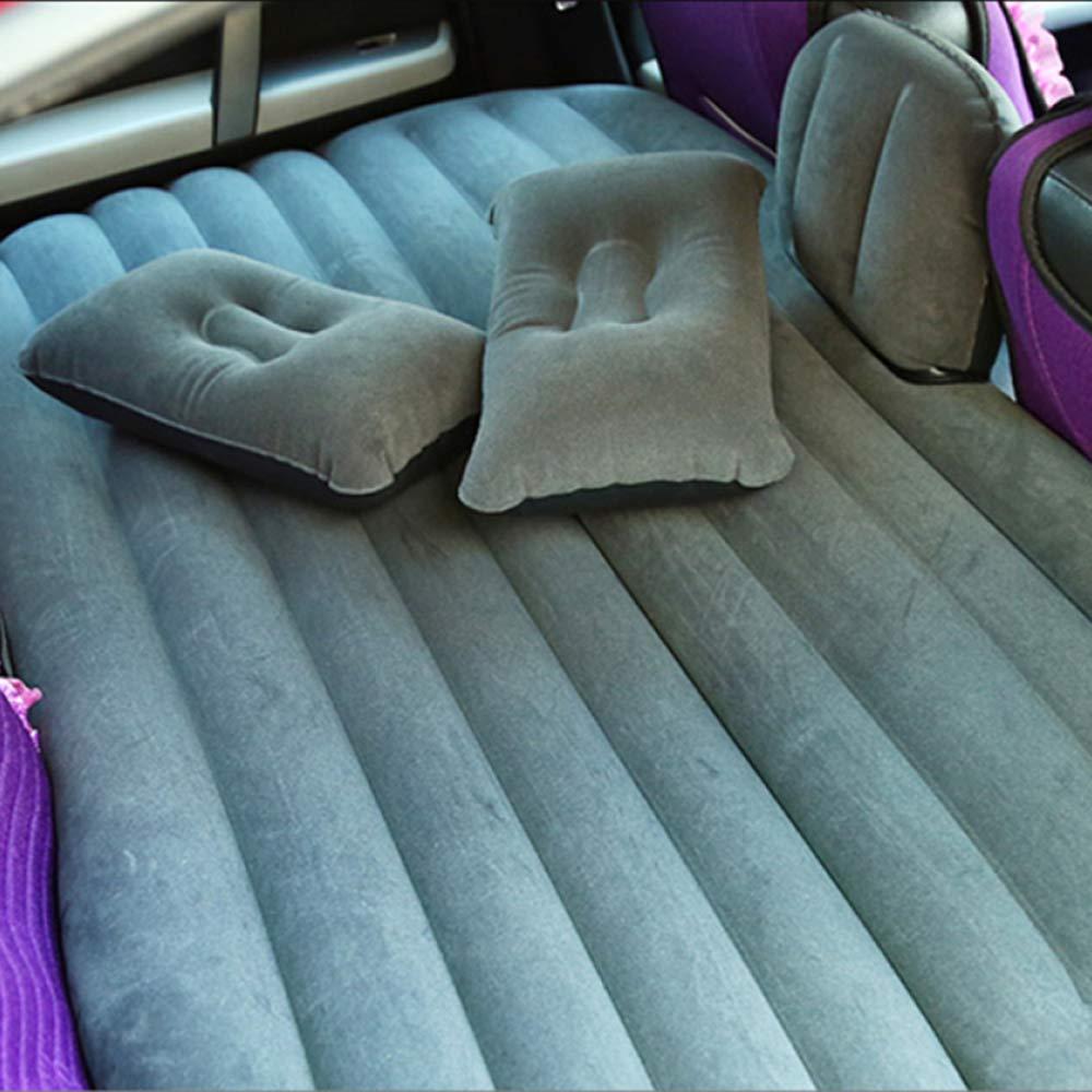 ERHANG Auto Aufblasbare Bett Falten Luft Bett SUV Auto Matratze Hinten Auto Reise Tragbare Kind Erwachsene Bett,schwarz