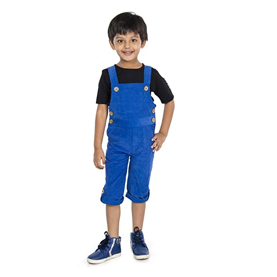 Buy Olele® Boys Butter Yellow Corduroy Dungaree 2-12 Yrs (T-Shirt Not  Included) | Full Length Corduroy Dungaree for Boys | Jumpsuits for Kids Boys  | Corduroy Dungaree for Kids | Toddler Jumpsuit at Amazon.in