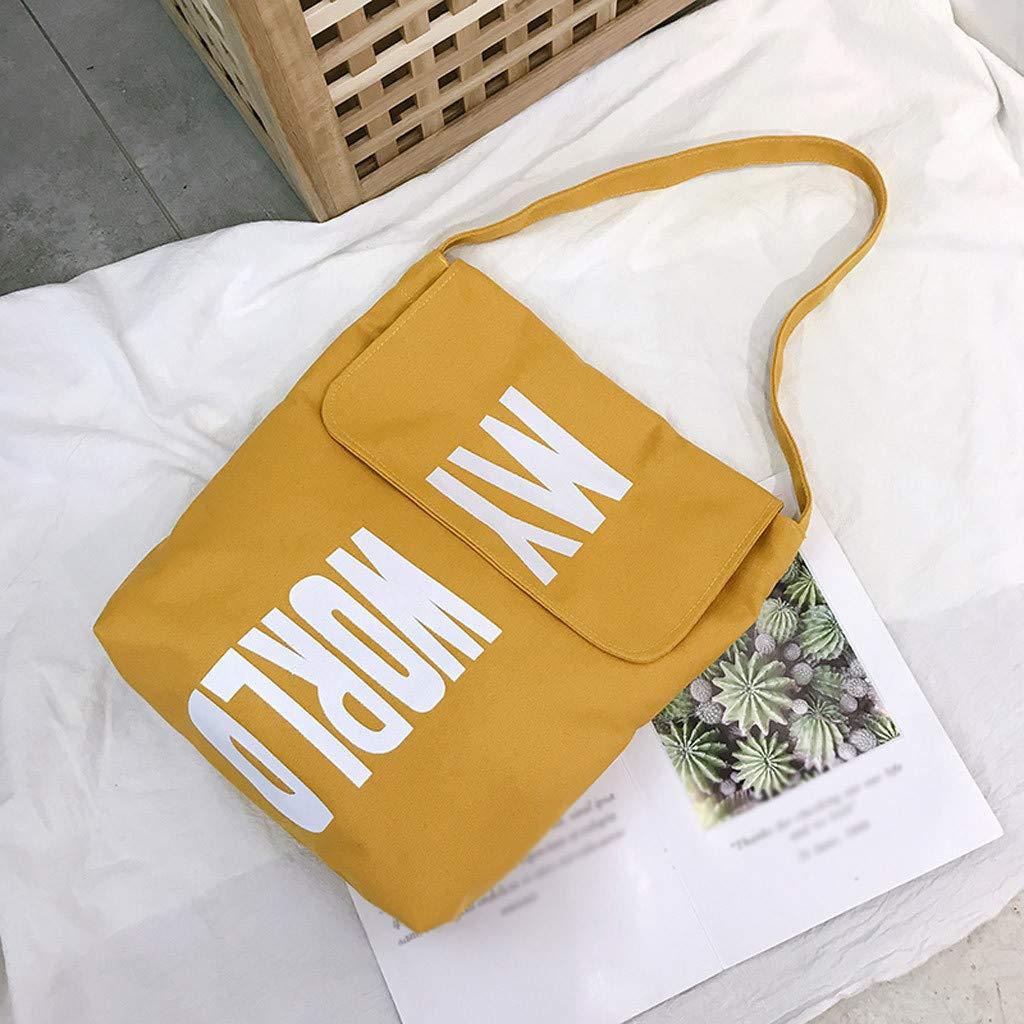 510c19fa26c2 Pengy Woman Handbag Fashion Large Capacity Lady Canvas Letter ...