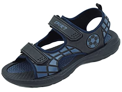 75ffd2cdd69 Amazon.com | SV S5A704 Men's Sport Sandals Adjustable Strap Open Toe Waterproof  Casual Beach Walking Hiking Black/Navy Shoes | Sport Sandals & Slides
