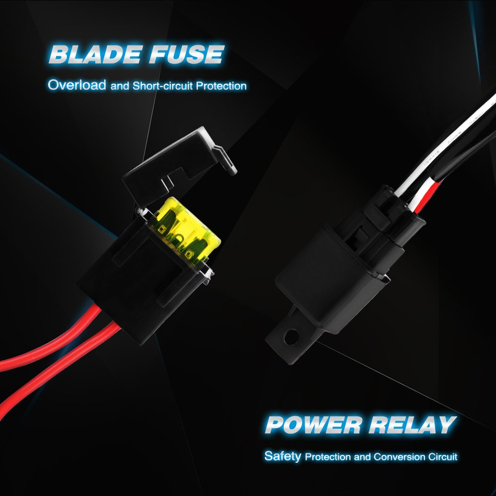 61vg%2BbZd3 L._SL1000_ amazon com nilight 20 inch 126w spot flood combo led light bar  at mifinder.co