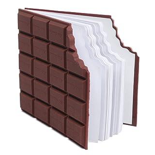 Kit di cartoleria scolastica Memo pad portatile marrone taccuino di cioccolato creativo fai da te copertina cancelleria scuola regalo di cancelleria per bambini ragazzi ragazze bambini teenager in the Dream