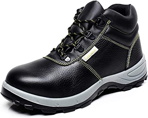 ZSXWIN Women Men Work Steel Toe Safety Shoes Composite Protect Unisex