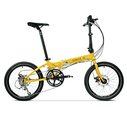 Monociclos Bicicleta Plegable Bicicleta de 20 Pulgadas de Velocidad Variable de aleación de Aluminio Unisex Freno
