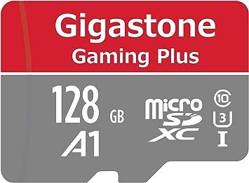 Gigastone MicroSD Tarjeta de 128GB con Adaptador(U1 C10 Clase10 ...