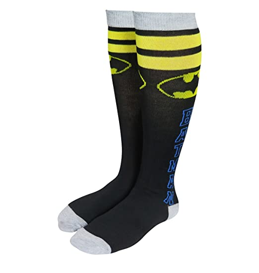 1b97cee4fb3 Image Unavailable. Image not available for. Color  Batman Athletic Stripe  Women s Knee High Socks