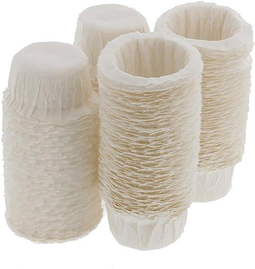 100 filtros de papel desechables de repuesto para cafeteras Keurig ...