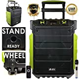 EMB PKL2500 PK1 1500W Power Jobsite Bluetooth / USB / SD Stereo Rechargeable Speaker - Water Splash Proof / Shockproof / Dustproof - for Beach / Marine / DJ Party / Camp / Construction / Industrial