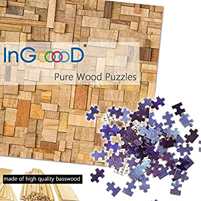 Ingooood Jigsaw Puzzles 1000 Pieces- Imagination Series Fantasy Romantic Star Sea: Toys & Games