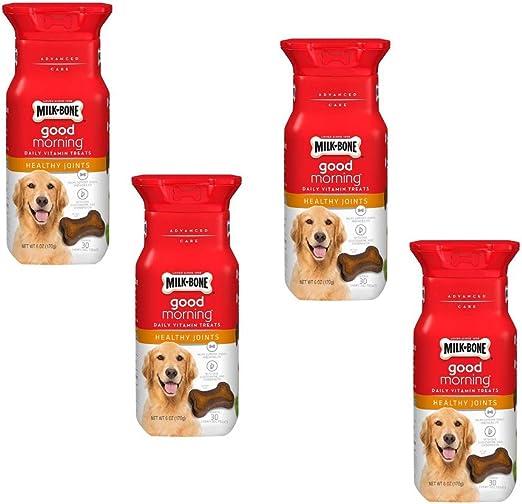 dog treats Milk-Bone Good Morning Daily Vitamin (Healthy Joints, 4 Pack)