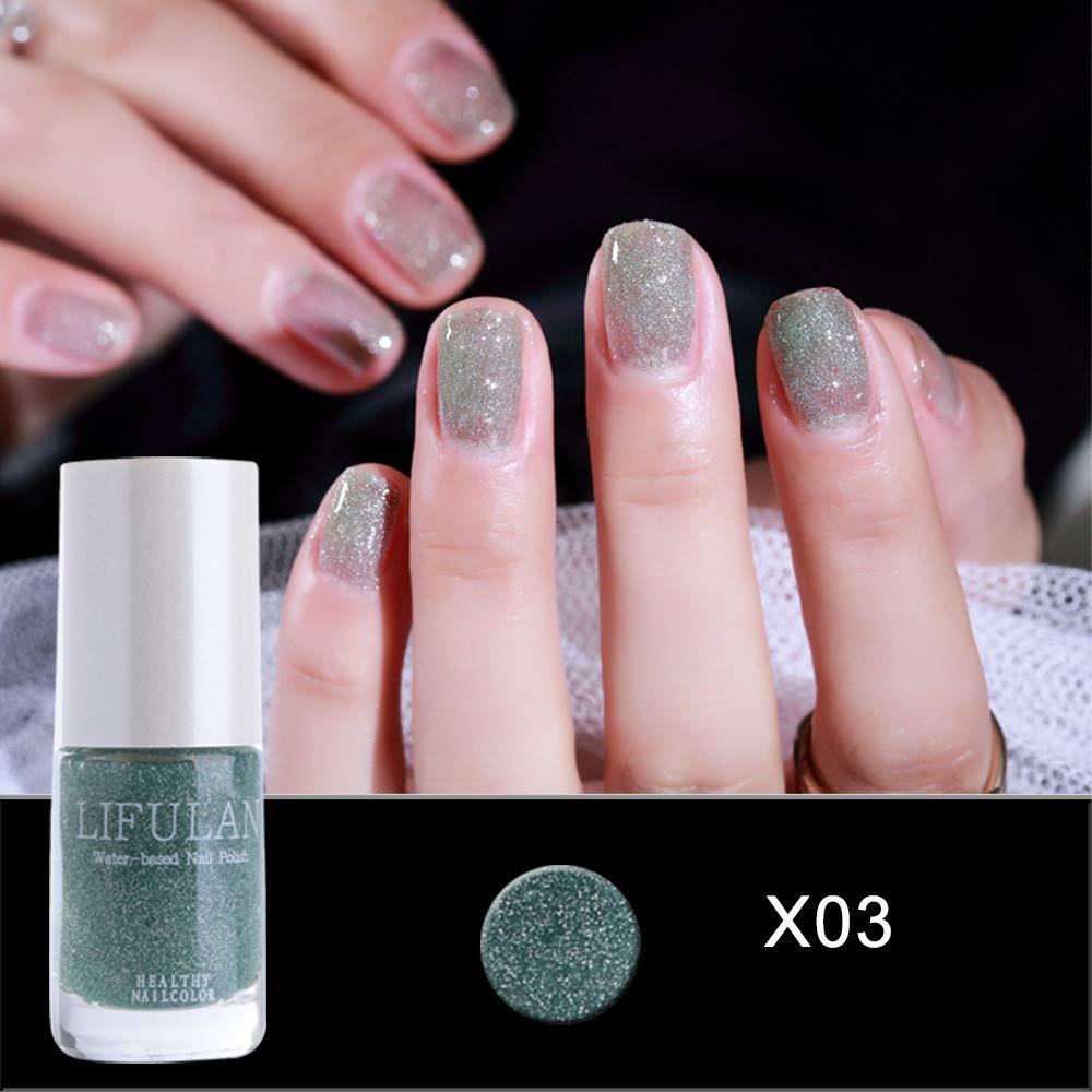Amazon.com : Gel Nail Polish Nail Art Nail Gel Polish UV LED Gel Water Based Nail Polish : Beauty
