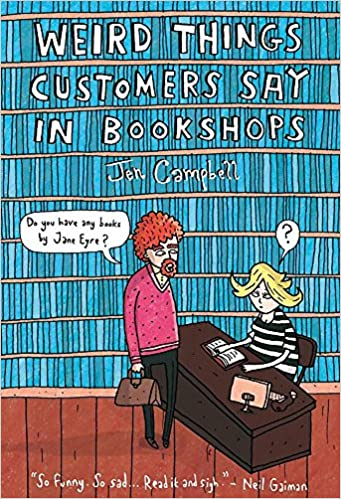 Image result for weird things customers say in bookshops