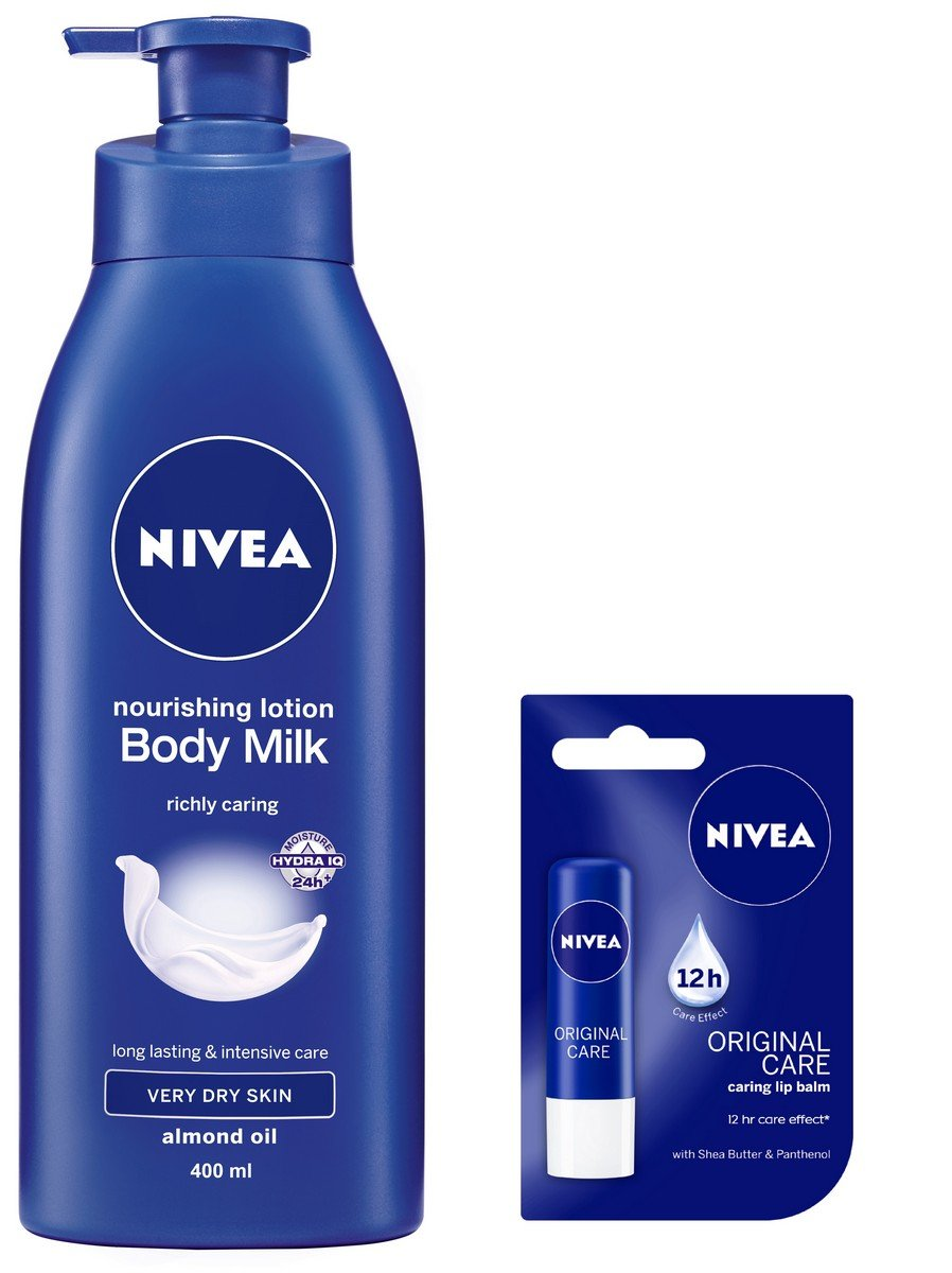 Buy Nivea Nourishing Body Milk 400ml With Free Original Care Dove Wash Gofresh Revive Pump 550 Ml Lip Balm 4 8g Online At Low Prices In India