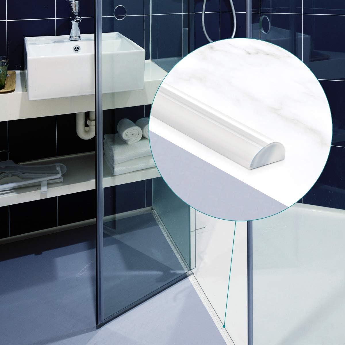 Navaris Junta de repuesto redonda para mampara de ducha - Sello ...
