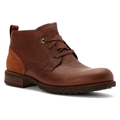 UGG Men's Brompton Grizzly Leather Boot 11.5 D ...