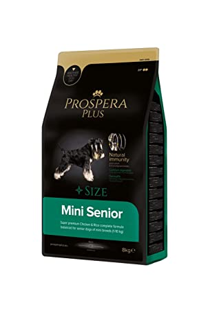 Prospera Plus Pienso Perros Senior Raza Pequeña -Mini Senior -Superpremium Pollo y arroz-