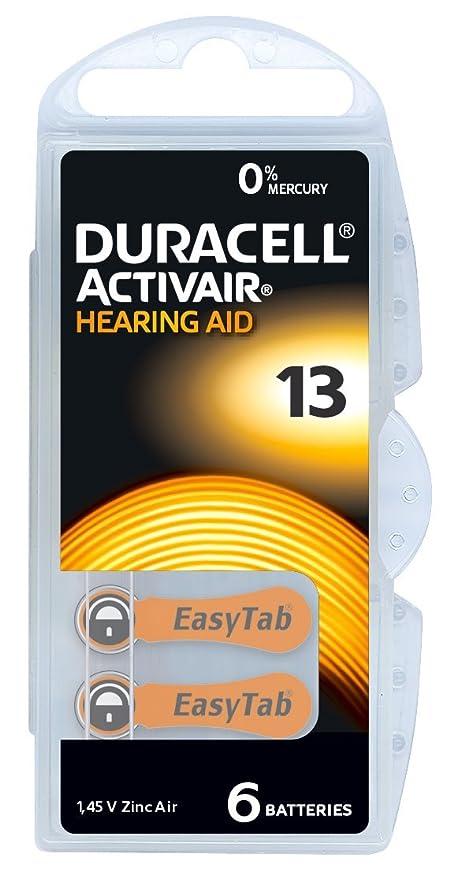 Hörgerätebatterien 13