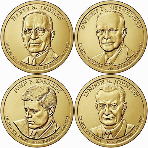 2015 D Presidential Dollar Set - Dollars Presidential Uncirculated