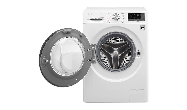 LG F2J7HG2W lavadora Carga frontal Independiente Blanco B ...