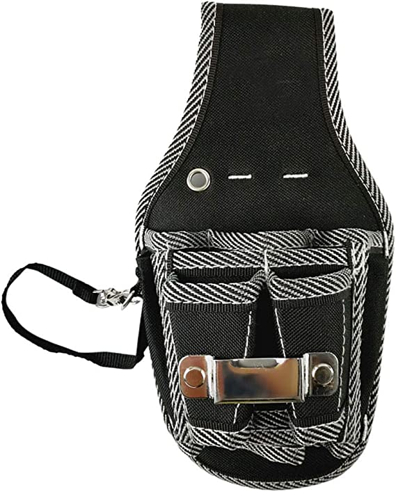 Leather Tool Bag Pocket Electrician Waist Screwdriver Kit Holder Belt Pouch