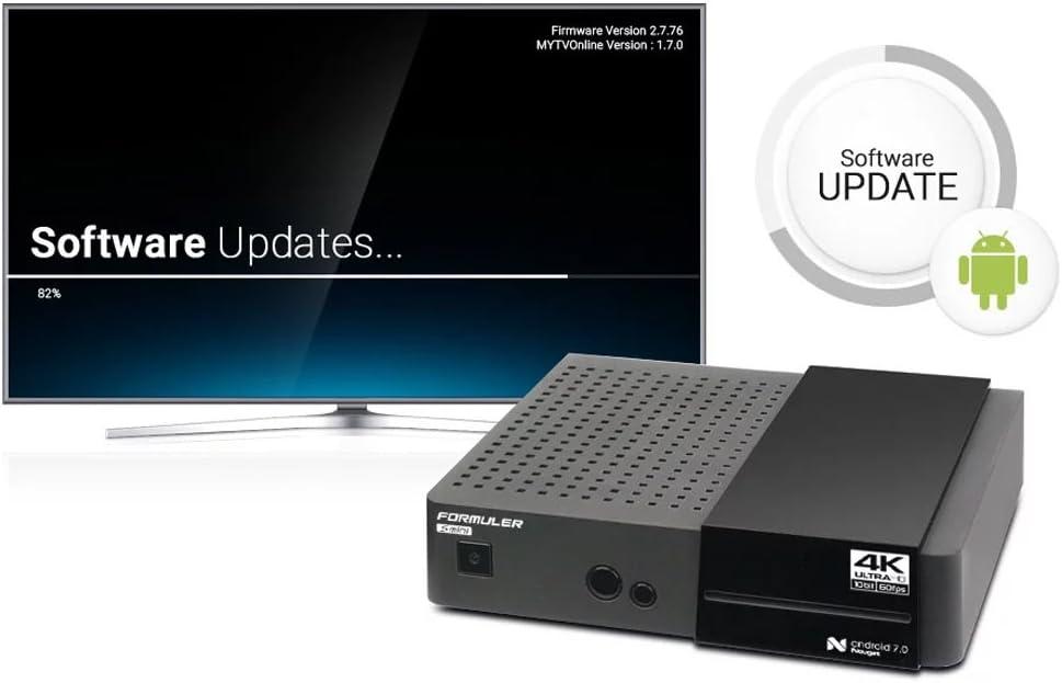 Formuler Mini Android HEVC 265 Ultra Sat IPTV Receiver