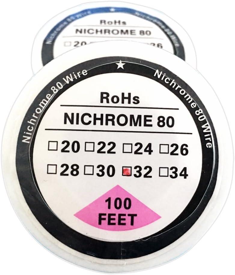 Demon Killer Nikrothal AWG22 Fil chauffant Nichrome 30 m 10 m