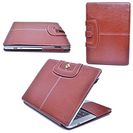 kRivi   PU Leather Case Cover for MacBook Air 13 Inches with Magnetic Lock Bags,Cases   Sleeves
