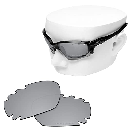 f97ae317ea7a2 Amazon.com  OOWLIT 4 Pair Replacement Sunglass Lenses compatible with Oakley  Jawbone Vented POLARIZED  Clothing