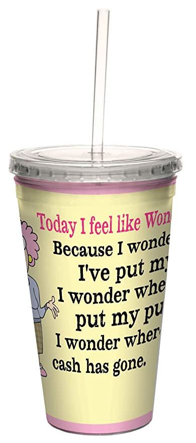 Amazon hilarious aunty acid travel cup with reusable straw 16 hilarious aunty acid travel cup with reusable straw 16 ounce wonder woman bookmarktalkfo Images