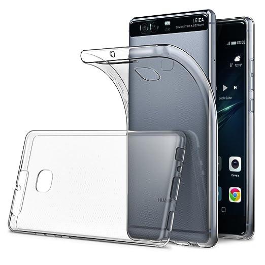 """54 opinioni per Cover Huawei P9 5.2"""" (Confezione da 2), Simpeak Custodia Chiaro Cristallo Liquid"""