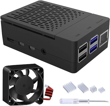 Geeekpi Raspberry Pi 4 Gehäuse Gehäuse Für Raspberry Computer Zubehör