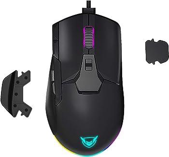 Picktek Wired 12000 DPI RGB Gaming Mouse