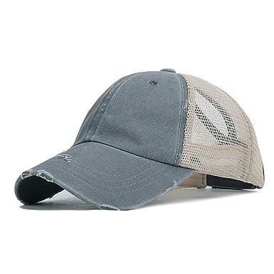 Opromo - Gorra de béisbol de algodón Lavado, Ajustable, diseño ...