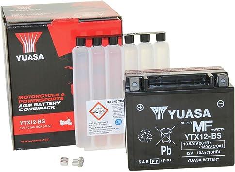 Batterie Yuasa Ytx 12 Bs Wartungsfrei Agm Auto
