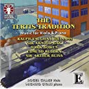 The Tertis Tradition- Music for Viola & Piano