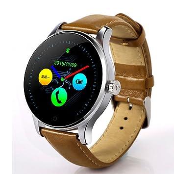 PINCHU Reloj Inteligente Bluetooth K88H MTK2502 Monitor de Ritmo Card¨ªaco Sincronizaci¨®n