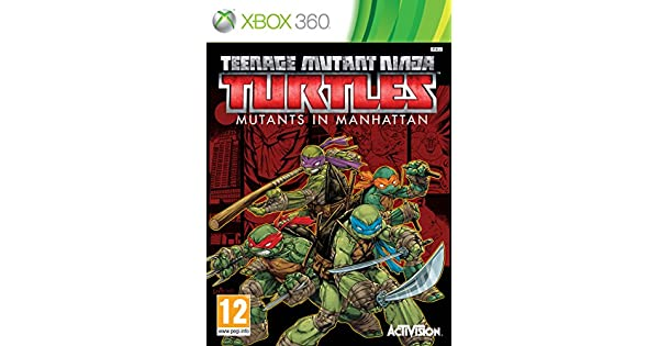 Amazon.com: X360 TEENAGE MUTANT NINJA TURTLES: MUTANTS IN ...