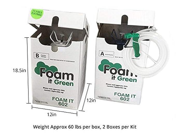 Amazon.com: Foam it 602 Class 1 juego de aislamiento de ...