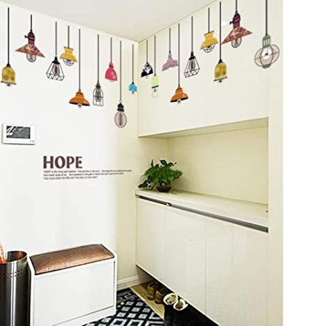 Amazon.com: Zyyanaes Pegatinas de pared de moda para salón ...