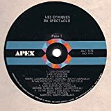 Les Cyniques: Les Abominables Cyniques En Spectacle! LP VG+/VG++ Canada Apex