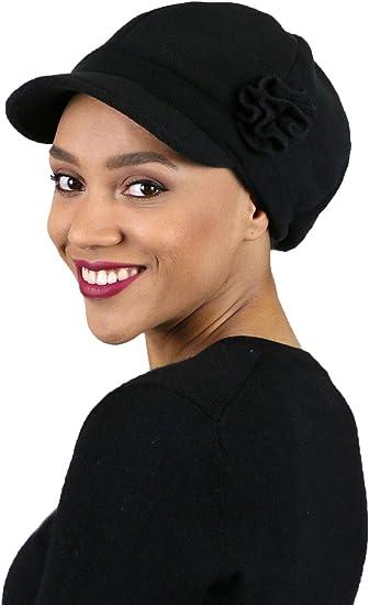 Newsboy Cap Summer Hats for Women Cotton Cancer Headwear Chemo Hair Loss Head Coverings Brighton