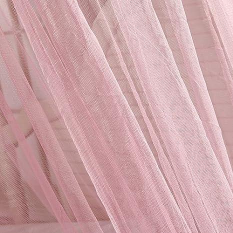 feinste L/öcher Hausbett-Dekoration schnelle einfache Installation s/ü/ßer Stil Sommer Outdoor-Reisen runder Betthimmel f/ür Familie FeiyanfyQ Luxus-Moskitonetz