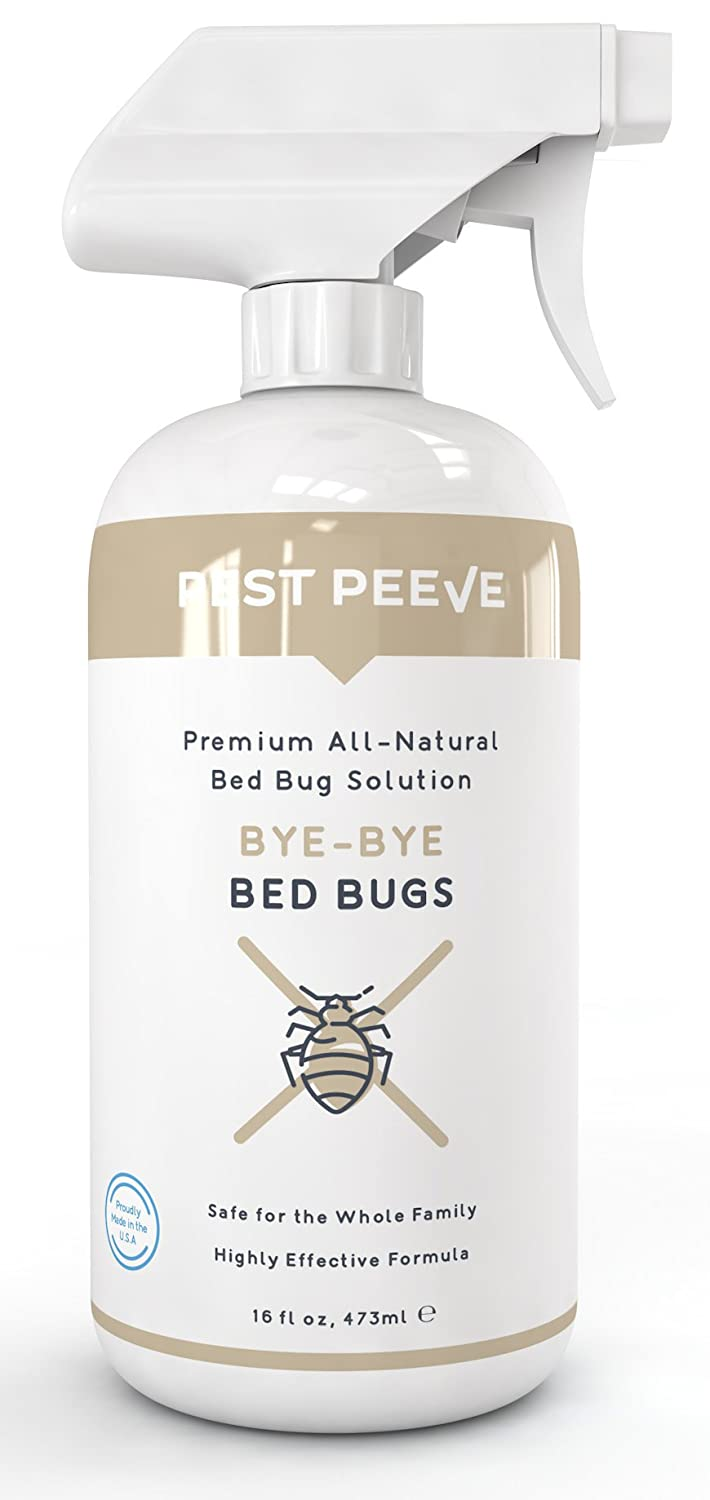 Bye-Bye Bed Bugs - Powerful, Natural Bedbug Killer