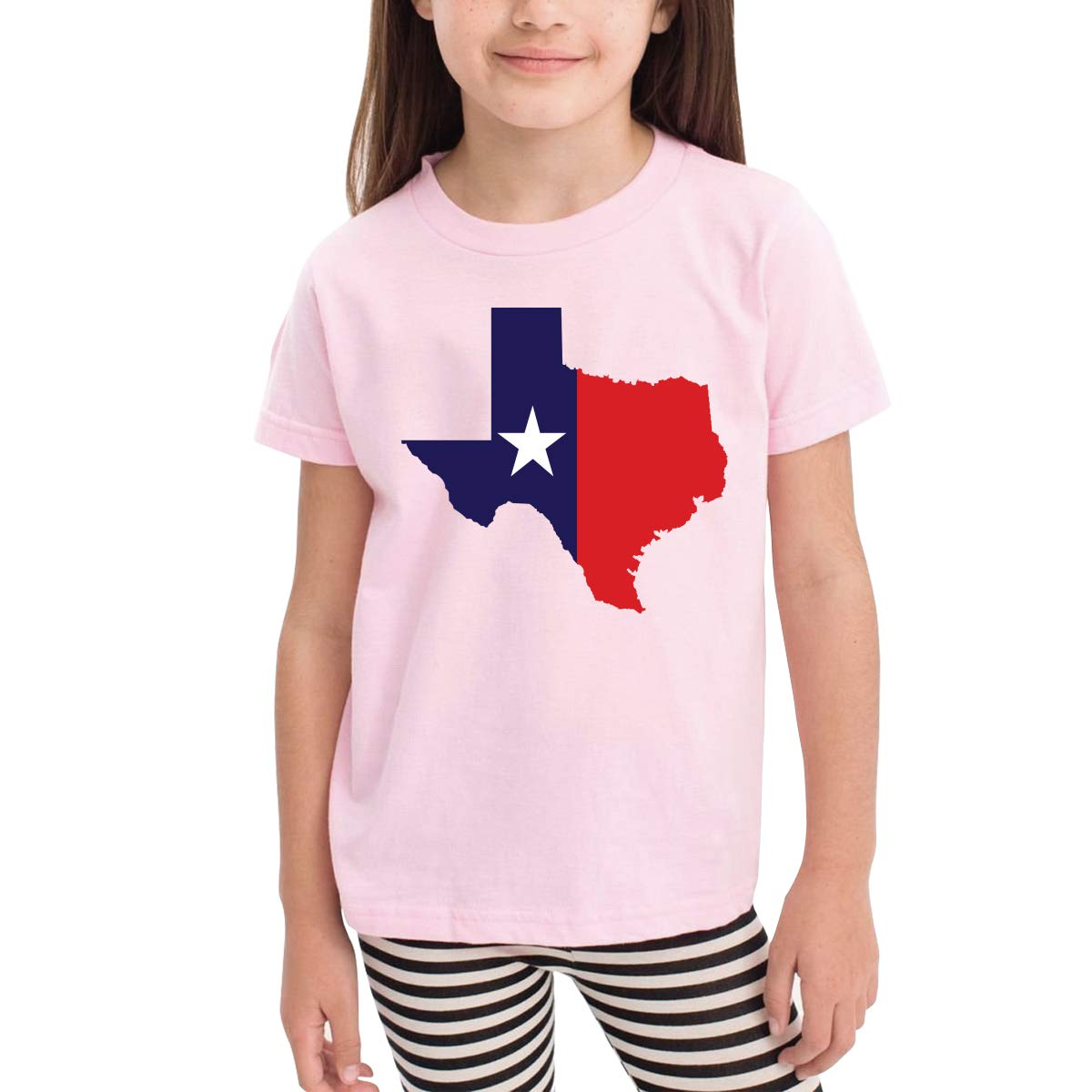 Onlybabycare Texas Flag Map 100/% Organic Cotton Toddler Baby Boys Girls Kids Short Sleeve T Shirt Top Tee Clothes 2-6 T