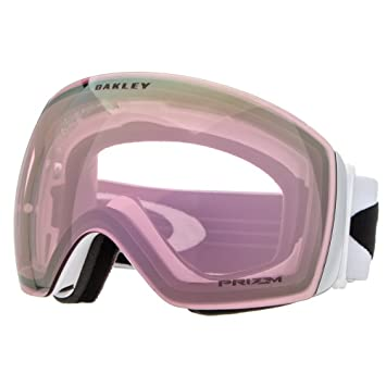 af18f1159f0 Oakley Flight Deck Snow Goggles One Size Matte White ~ Prizm Hi Pink Iridium