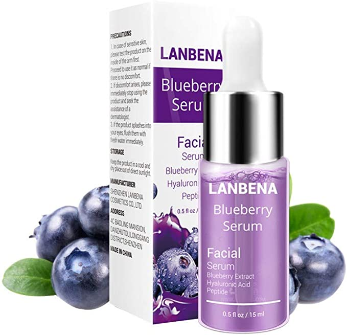 Blueberry Hyaluronic Reparación Líquido Colágeno Desalt Imprint Care Proteína Ácido Hidratante Arrugas Anti Envejecimiento 100% Suero Reafirmante ...