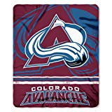 The Northwest Company Officially Licensed NHL Colorado Avalanche Fade Away Printed Fleece Throw Blanket, 50